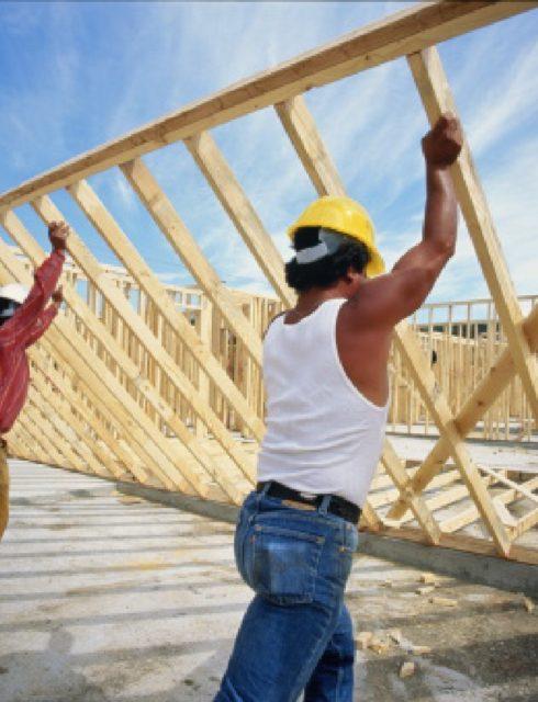 بناء منزل