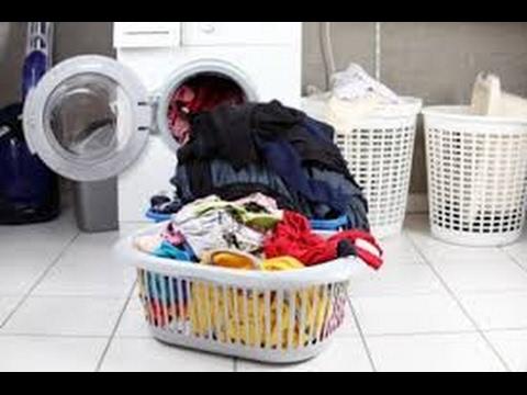 انواع المساحيق المستخدمة في غسيل الملابس